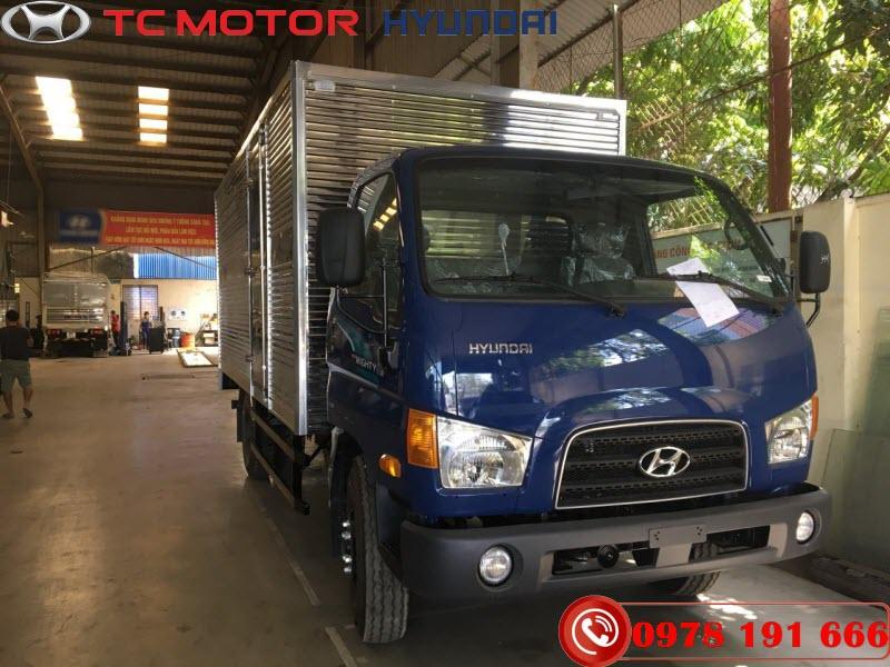 Xe tải Hyundai 110SL Thùng Kín 7 Tấn