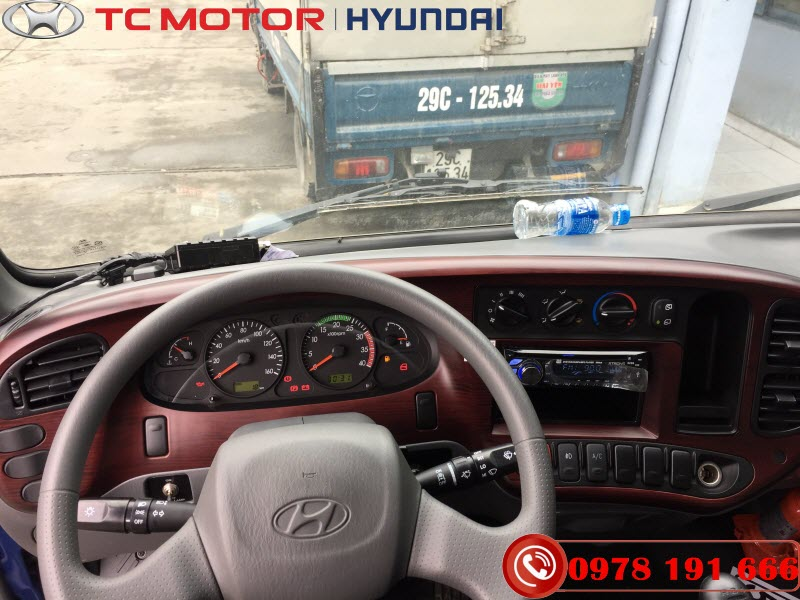 Nội thất xe tải 110SL