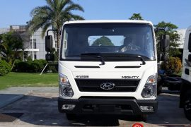 Hyundai New Mighty EX8 Thùng Mui Bạt