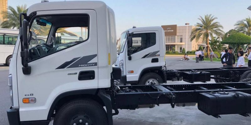 Xe tải Hyundai Mighty EX8 tại Hải Phòng