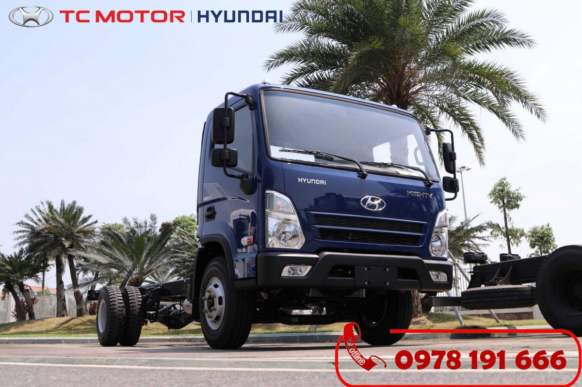 Xe tải Hyundai Mighty EX8 GT 7 Tấn