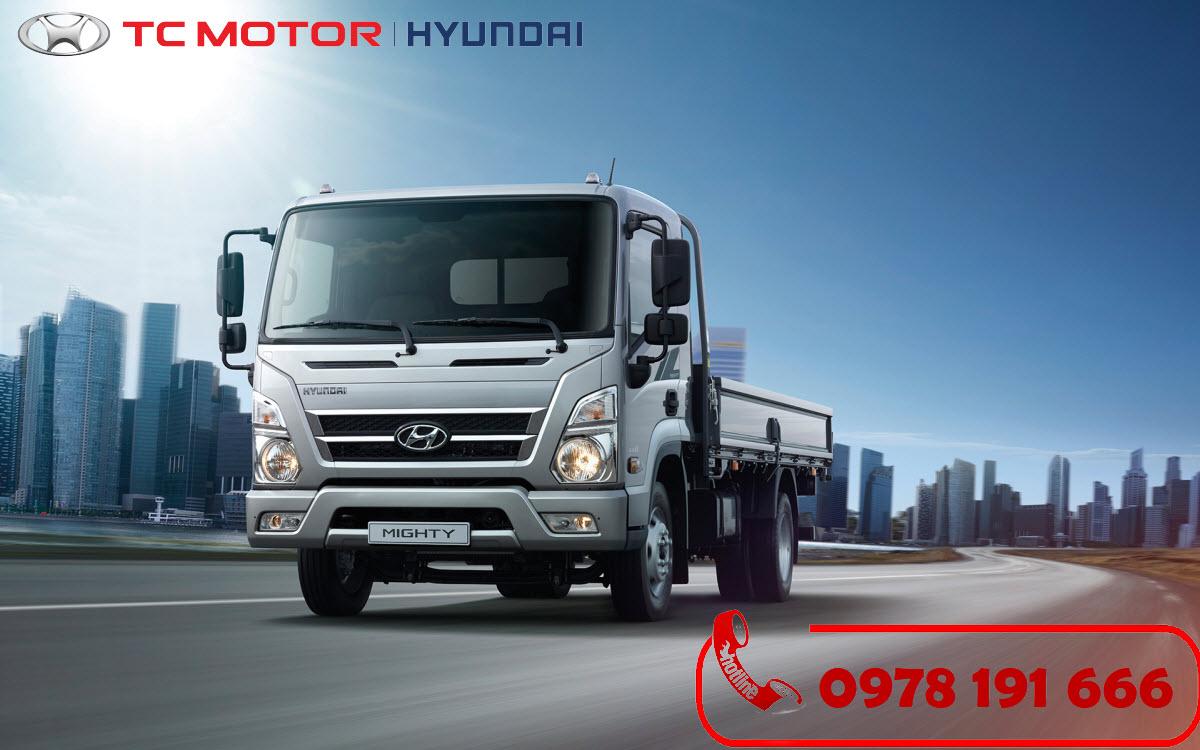 Xe tải Hyundai Mighty EX8 Thùng Lửng