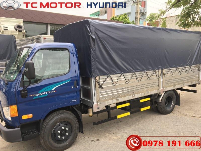 Hyudnai Mighty 110SL Thùng Bạt