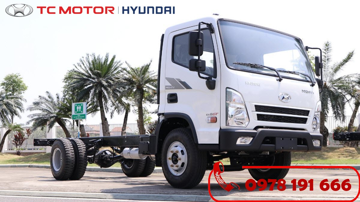 Xe tải Hyundai Mighty EX8 GTL