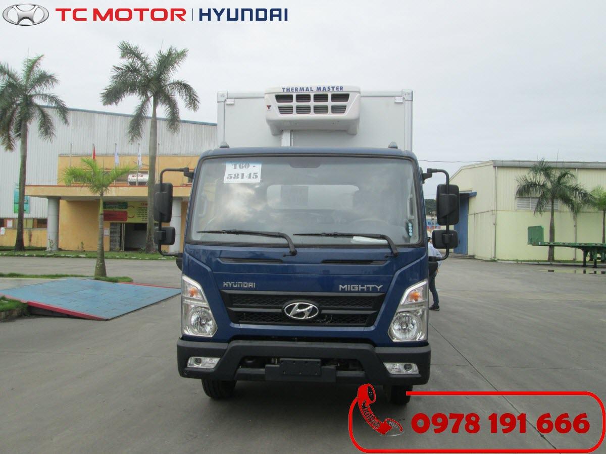 Xe tải Hyundai New Mighty EX8 Thùng Đông Lạnh 7 Tấn