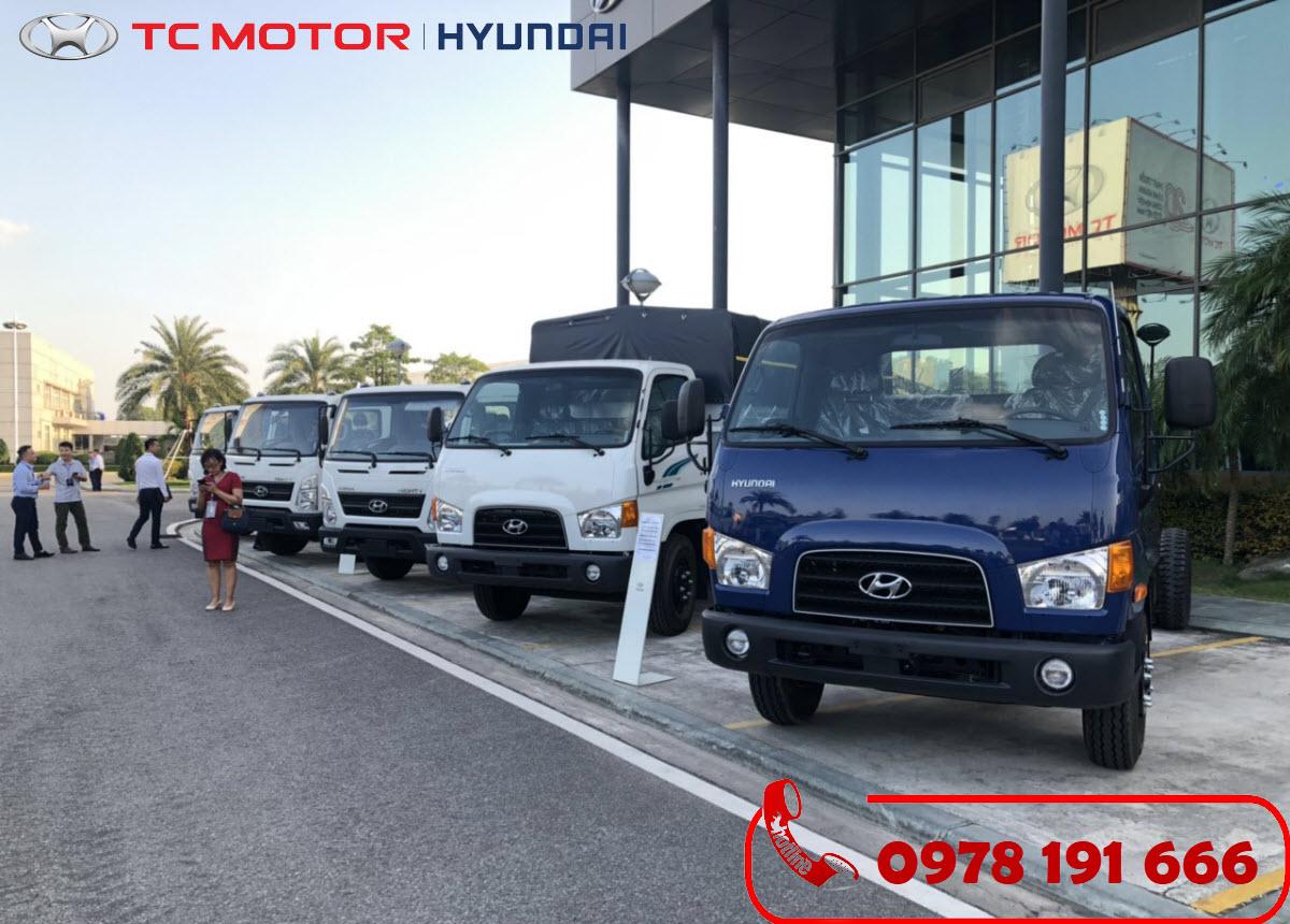 Xe tải Hyundai New Mighty 110XL 7 Tấn Thùng Dài 6M2