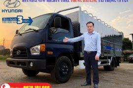 Xe tải Hyundai New Mighty 110XL 7 tấn thùng mui bạt dài 6.2m