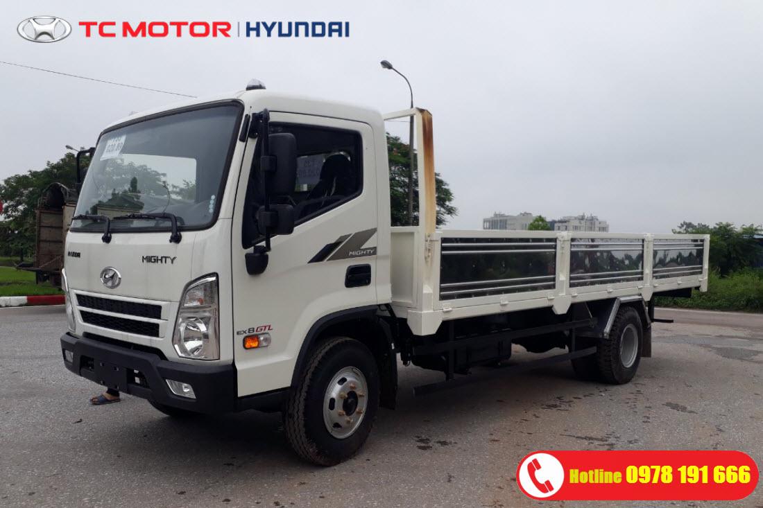 Mighty EX8 GTL Thùng Lửng   Xe Tải Hyundai EX8 7.5 Tấn